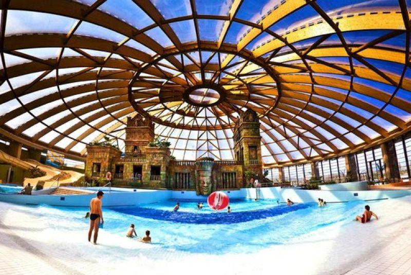 Aquaparky a kúpele v Maďarsku
